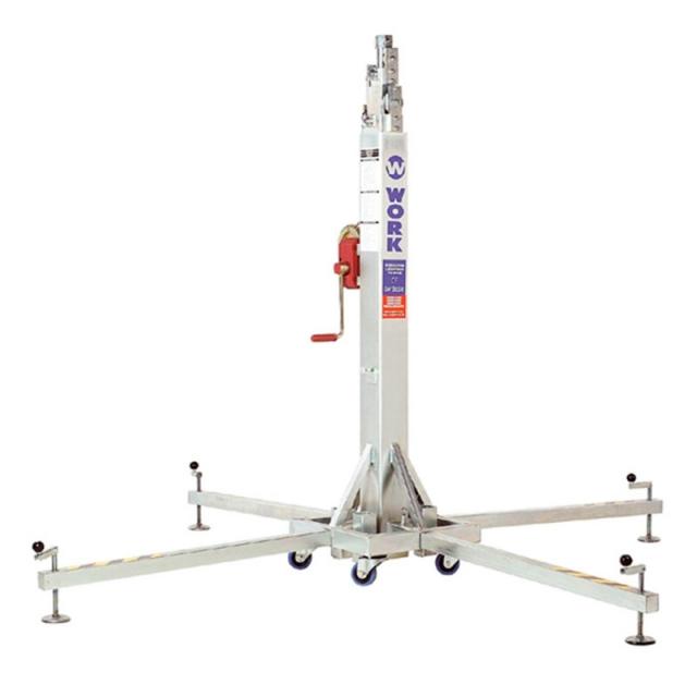 Телескопический подъемник элеватор для светового оборудования колпаки транспортер т4